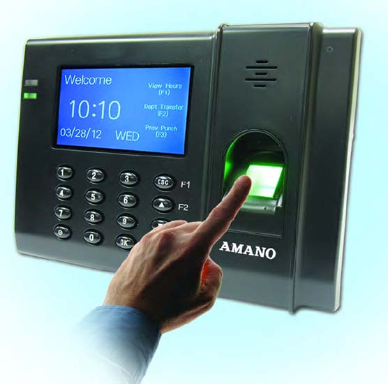 Florida Time Clock - Amano FPT-80 with TimeGuardian Software